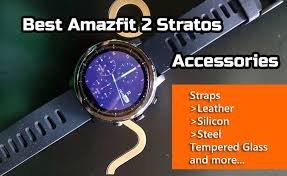 Best Accessories for Amazfit 2 Stratos – <b>Screen Protector</b>, Straps ...