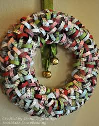 accessories and furniture inspiring handmade paper crafts for inspiring handmade paper crafts for beautiful front door christmas wreath using basic