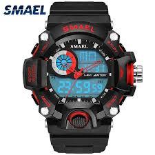 <b>SMAEL</b> ARMY sport watches Set <b>mens double</b> cool Male waterproof ...