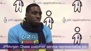 chase interview customer service representative