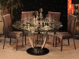 Glass Top Pedestal Dining Room Tables Modern Black Glass Coffee Table Round Glass Top Dining Table