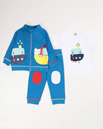 <b>Комплект</b> одежды для мальчика <b>Tuc Tuc</b>, цвет: синий ...