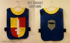 DIY <b>Knight Costume</b> made from colourful felt. <b>Knight</b> tunic is ...