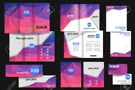 holiday flyer template stock illustrations cliparts and holiday flyer template set of corporate business stationery templates abstract brochure design modern