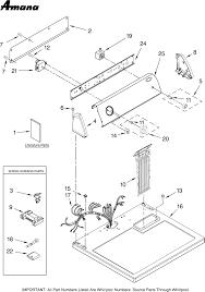amana dryer wiring diagram annavernon sd queen washer wiring diagram home diagrams
