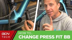 How To Fit A Press Fit Bottom Bracket - YouTube