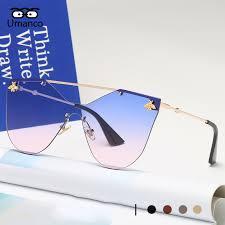 Umanco <b>2018 New</b> Fashion Rimless Sunglasses Women <b>Men</b> ...