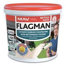 <b>Эмаль для бетонных полов</b> акриловая Flagman Bettex Aqua ...