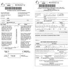 traffic tickets and other provincial offences act poa fines electronic ticket front