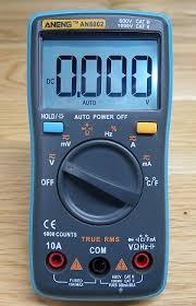 Budget Multimeters › Aneng AN8002 Multimeter Review