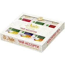 Подарочный <b>набор Чайное ассорти</b> из 6 видов ОП чая по 6 ...