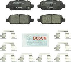 Bosch BC905 QuietCast Premium Ceramic Disc <b>Brake Pad</b> For