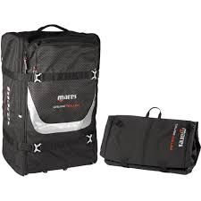 Mares Cruise Roller <b>Foldable</b> Backpack with <b>Wheels</b> 415466 ...