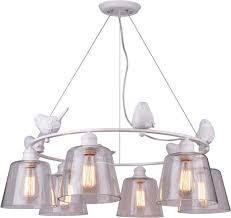 <b>Подвесная люстра Arte Lamp</b> Passero A4289LM-6WH — купить в ...