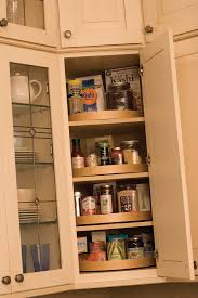 Kitchen Cabinets Lazy Susan A Corner Wall Cabinet Is An Ideal Location For A Stack Of