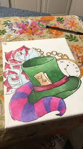 best ideas about alice in wonderland drawings alice in wonderland painting by kayla green