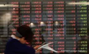 Hasil gambar untuk Bursa Saham AS Berakhir di Zona Merah