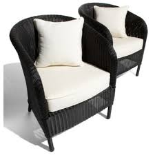 black outdoor wicker furniture black garden furniture