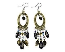 Buy Glitz <b>Fashion Vintage Antique</b> Silver Bohemia Beads Tassel ...