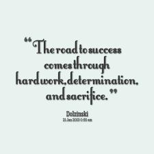 Success Sacrifice Quotes. QuotesGram