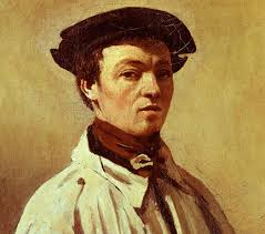 ... Rouen and two abortive apprenticeships with drapers, he was given the financial freedom at the age of 26 to devote himself to painting. - corot-jean-baptiste-camille-c-face-half