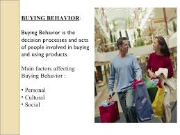 Research paper on consumer buying behavior