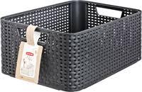 <b>Корзина CURVER Rattan</b> Style Box M-18L 04722 – купить в сети ...