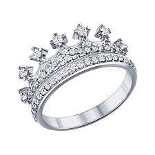 """Дом Золота """"Янтарь"""" —<b>Кольцо корона с фианитами</b> Арт ..."""