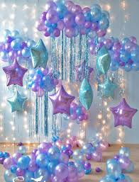 Light Blue Pear Latex Balloon <b>18 inch</b> Star Round Balloon Birthday ...