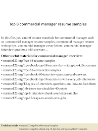 top commercial manager resume samples top gallery of security site manager jobs