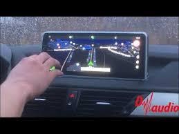 Обзор: <b>Штатное головное устройство</b> BMW X1 - YouTube