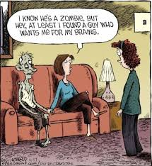 LOLPics - Zombie wants brain - Funny Pictures and MEMES on imgfave via Relatably.com