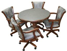 casual dining chairs with casters:  caribeancasters rdwoodjpg caribeancasters rdwood  caribeancasters rdwoodjpg