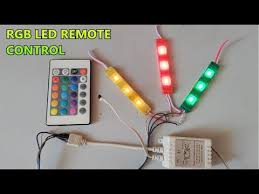 <b>RGB</b> SMD <b>LED</b> IR <b>Remote control</b> // 24 Key function // part-3 ...
