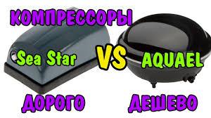 ДОРОГО VS ДЕШЕВО| <b>КОМПРЕССОРА</b> | Aquael vs <b>Sea Star</b>| air ...