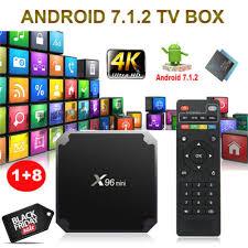 <b>NEW X96 MINI</b> S905W 1+8G <b>Android 7.1.2</b> Nougat 4K Quad Core ...