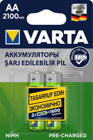 <b>аккумулятор Varta AA</b> power <b>x2100mah</b>, NiMH (56706101412 ...
