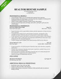 real estate resume  amp  writing guide   resume geniusreal estate resume sample