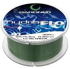 <b>Леска</b> Gardner HYDRO-FLO <b>10lb</b> (4.5kg) GREEN, 0.28mm (300m ...