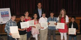 senator andrew lanza honors winners of annual memorial day essay  senator andrew lanza honored winners of his annual memorial day essay contest at intermediate school  on saturday may