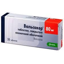 <b>Вальсакор</b> таб п/о плен <b>80мг</b> N 30 купить в Пермь, описание и ...