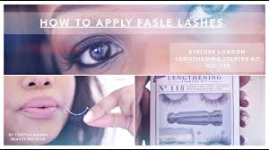 <b>False Lash</b> Application | Eyelure <b>Lengthening</b> Starter Kit #118 ...