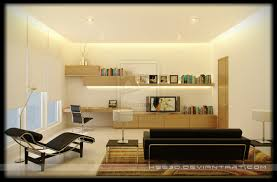 the awesome study and living room design awesome home study room