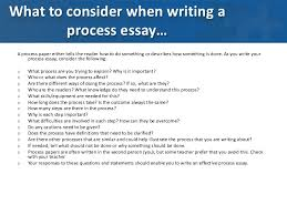 the informative essay   two types of process essaysltbr