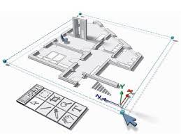 How Home Floor Plans Work   HowStuffWorksHouse floor plan  digital rendering