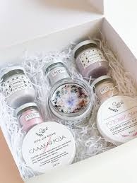 soy wax candle flowers sachet gift box | Соевые <b>свечи</b>, <b>Свеча</b> в ...