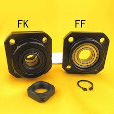 High Quality 1PC SFU1204 <b>ballscrew end support set</b> 1pc FK10 ...