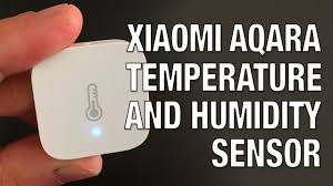 Xiaomi <b>Aqara Temperature</b> and <b>Humidity Sensor</b> Overview - YouTube