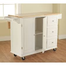leaf kitchen cart: aspen  drawer spice rack drop leaf kitchen cart overstockcom dropleafkitchencarts