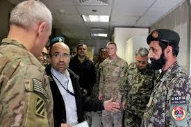 u s department of defense photo essay u s army maj gen mike murray left deputy commander u s forces